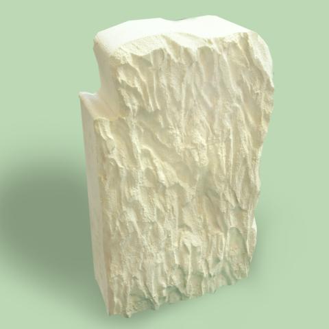 Дикий камень из пенопласта без покрытия