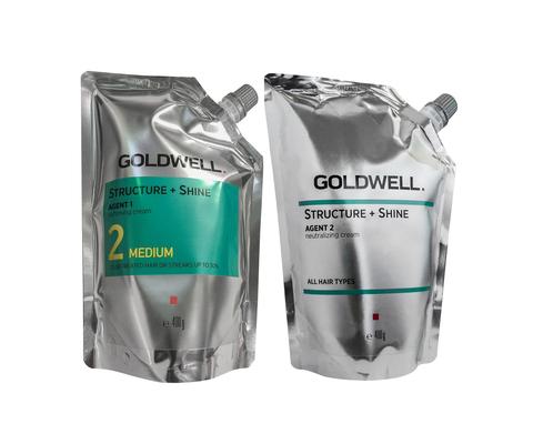 Goldwell Structure+Shine Medium 2*400 мл.