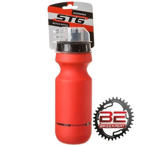Фляга STG Bicycle Bottle 600мл красная