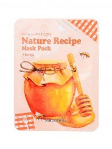 Маска тканевая Secret Key Nature Recipe Mask Pack Honey с медом 20 гр