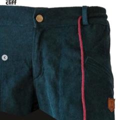 Брюки для скалолазания Hi-Gears The Cliff Corduroy Pants dark green (темно-зеленые)