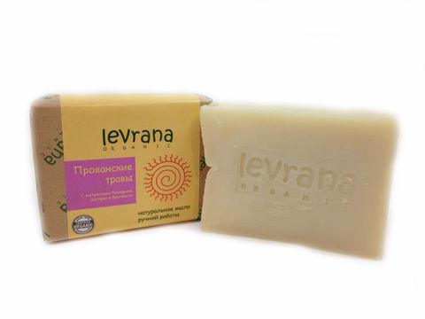 Levrana, Натуральное мыло ручной работы Прованские травы, 100гр