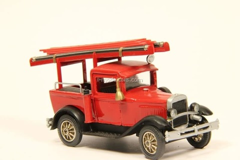 GAZ-4 Fire engine ladder LOMO-AVM 1:43