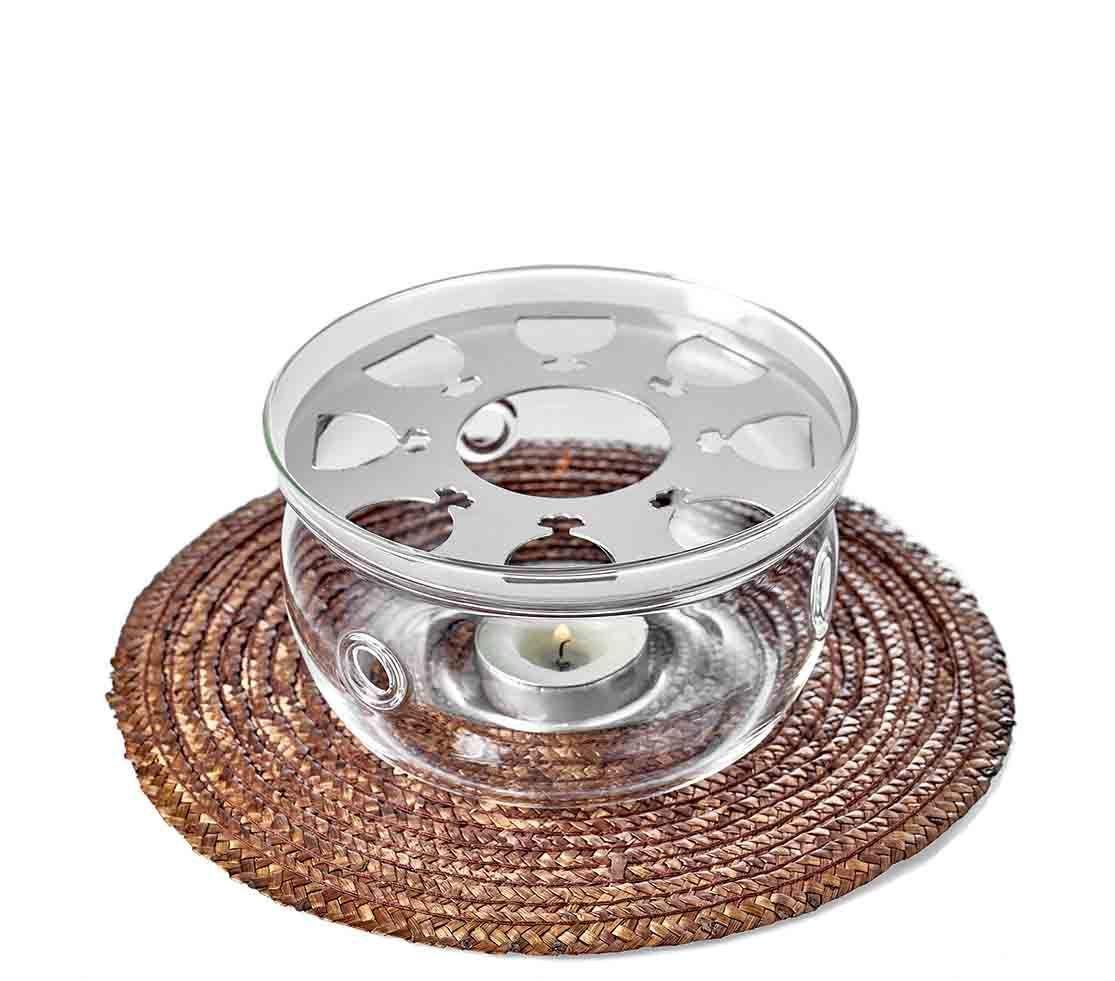 "Подставка для чайника Стеклянная подставка-нагреватель ""Тама"" диаметром 12,5 см podstavka_nagrevatel_dlya_chainika_Tama.jpg"