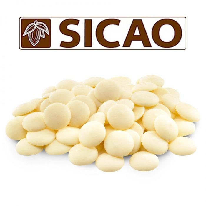 Белый шоколад SICAO, 100 г.