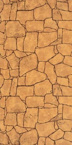 Листовая панель МДФ Акватон Камень Алатау коричневый 2440х1220 мм