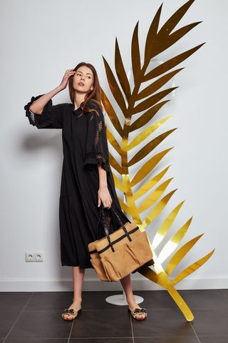 Dorothee Schumacher Платье с прошивом трикотажное