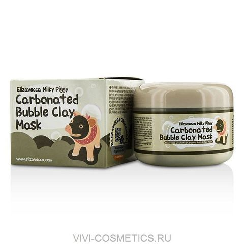 Кислородно-глиняная маска | ELIZAVECCA  Milky Piggy (100ml)