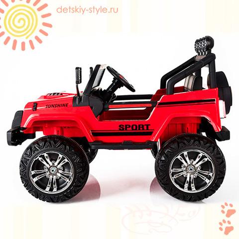 """Электромобиль Little Sun """"Jeep S2388 (4X4)"""""""