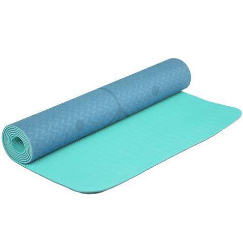 Коврик для йоги с разметкой Жимолость 183*61*0,5 см