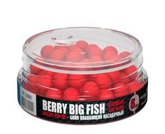 Бойлы насад. плав. Sonik Baits BERRY BIG FISH MICRON Fluo Pop-ups 8мм 50мл