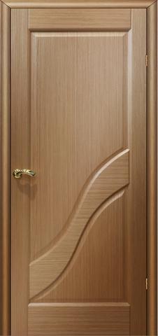 Дверь Глория ПГ (светлый дуб, глухая шпонированная), фабрика LiGa
