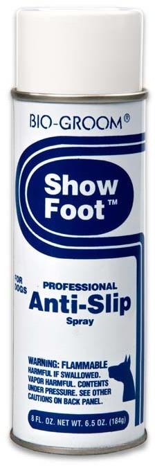 Груминг, уход за шерстью Спрей от скольжения для собак, Bio-Groom Show Foot, 184 г 52308.jpg