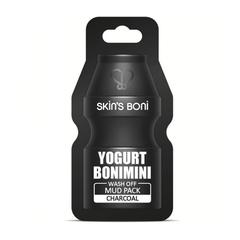 Глиняная Маска Skin's Boni WashOff MudPack Charcoal 15g 1 шт.