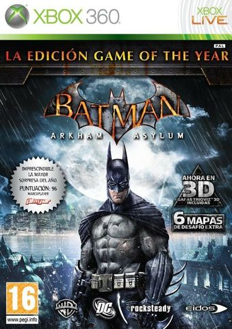 Batman Arkham Asylum - Game of the Year Edition (Xbox 360, английская версия)