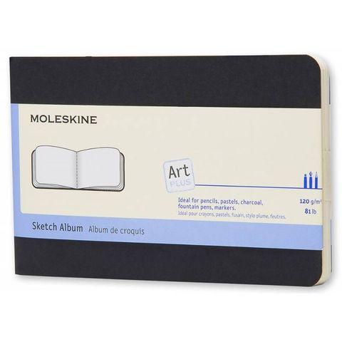 Блокнот для рисования Moleskine CAHIER SKETCH ALBUM ARTSKA2 Pocket 90x140мм обложка картон 72стр. черный
