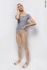 Translucent Ziphirus leggings Zold | beige