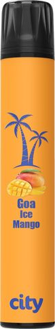 CITY SUBWAY- Гоа (ледяное манго) до 900 затяжек