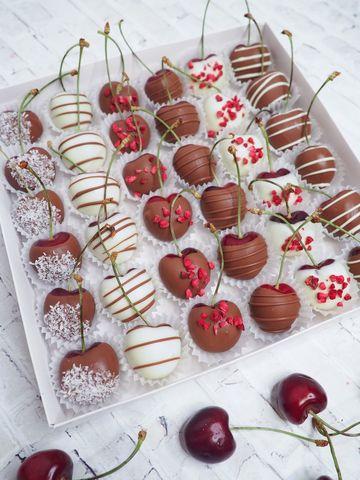 Черешня в бельгийском шоколаде