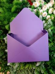 Конверт-кашпо фиолетовый