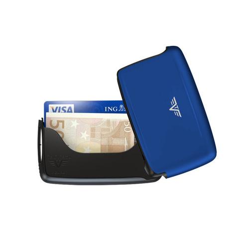Визитница c защитой Tru Virtu Pearl, светло-синий , 104x67x17 мм