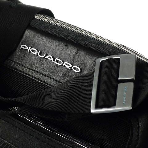 Сумка Piquadro Link, черная, 24x30,5x5 см