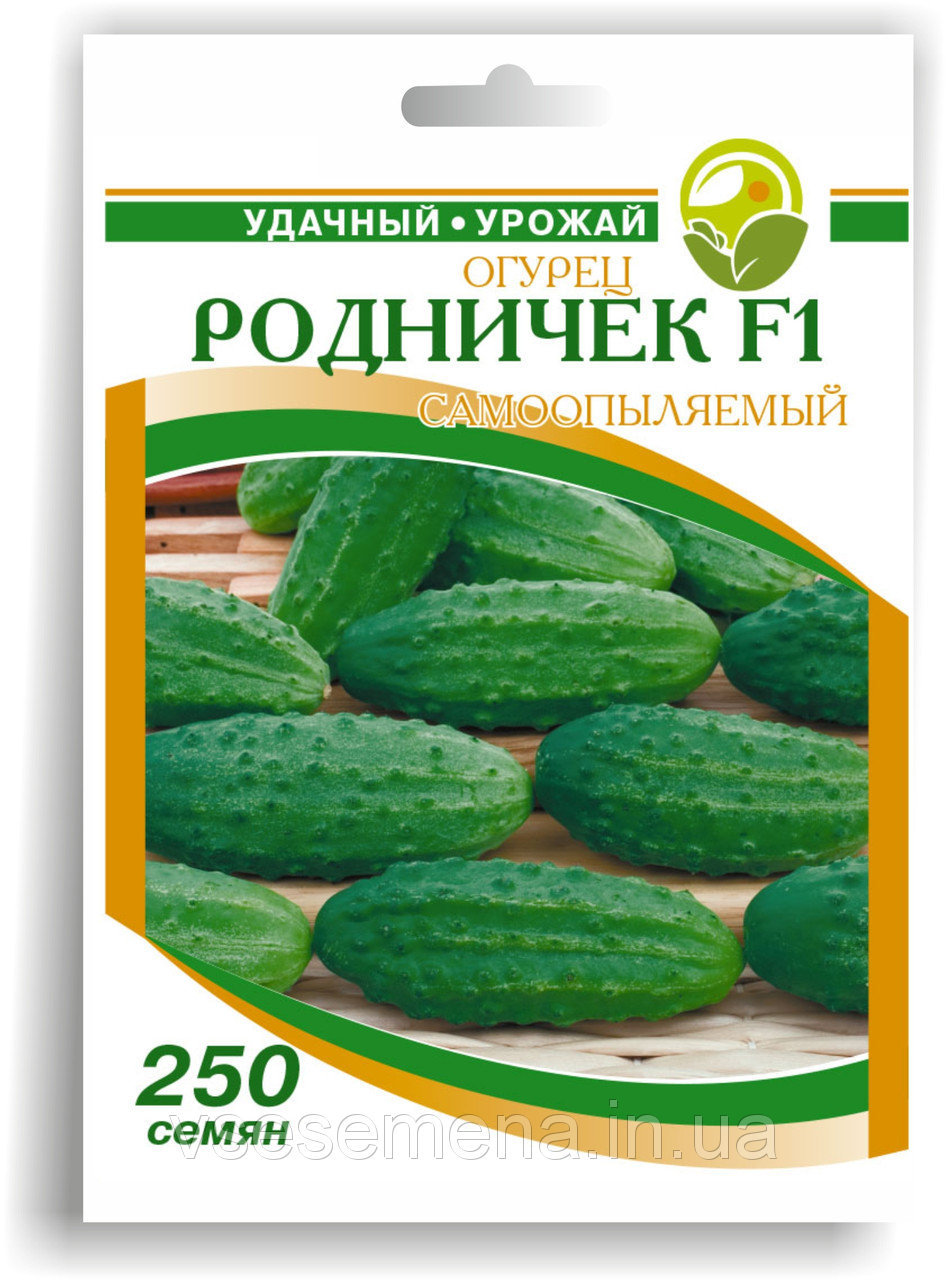 Семена огурцов 'Родничок F1' - 250 c.