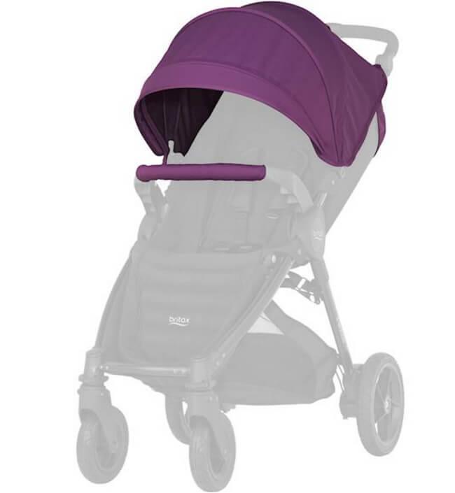 Капор для коляски B-Agile 4 Plus, B-Motion 4 Plus, B-Motion 3 Plus Капор для коляски B-Agile 4 Plus, B-Motion 4 Plus, B-Motion 3 Plus Mineral Lilac chekhol_mineral-lilac.jpg
