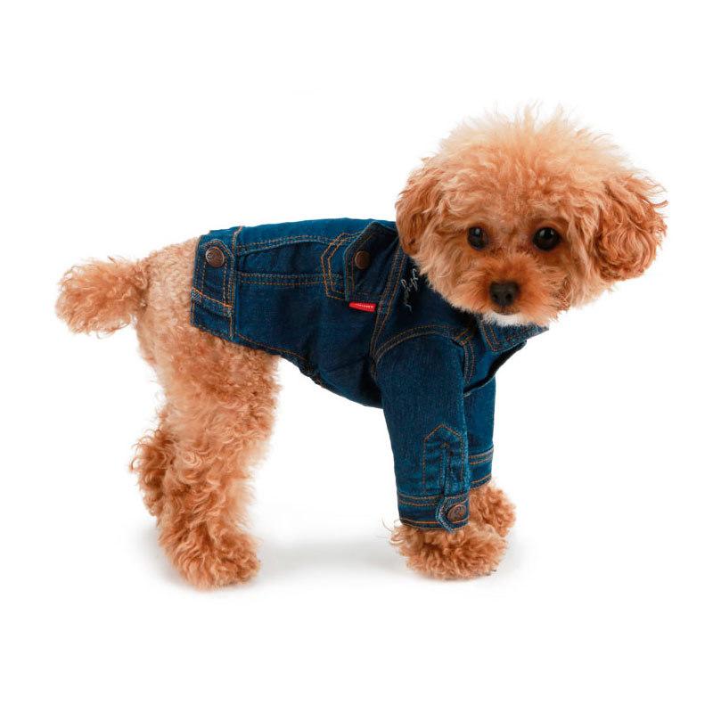 406 PA - Джинсовая куртка для собаки