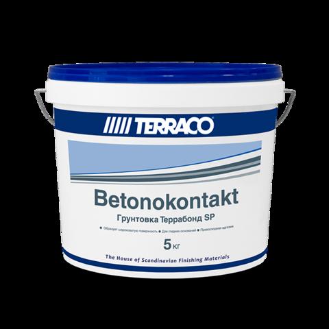 Terraco Terrabond SP/Террако Террабонд SP адгезионная грунтовка бетоноконтакт для слабо впитывающих оснований