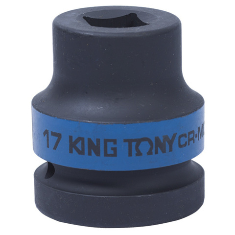 KING TONY (851417M) Головка торцевая ударная четырехгранная 1