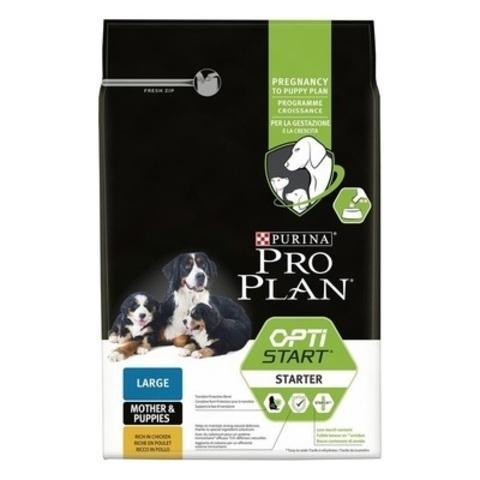 Pro Plan Starter сухой корм для щенков и беременных собак крупных пород с курицей