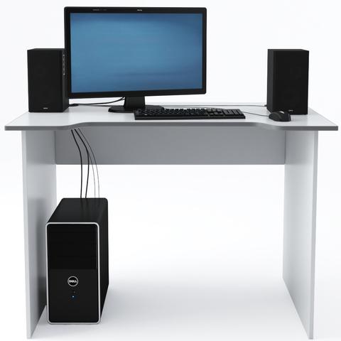 Стол Компьютерный Jedi 1100 Белый/Серый