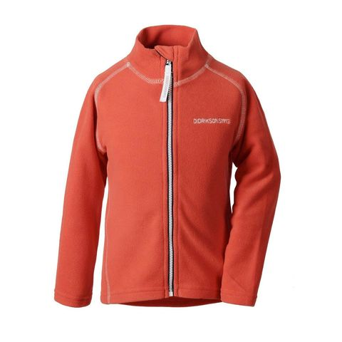 Куртка флис Didriksons Monte kids (паприка) 501359-208