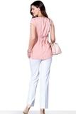 Блузка для беременных 01397 розовый