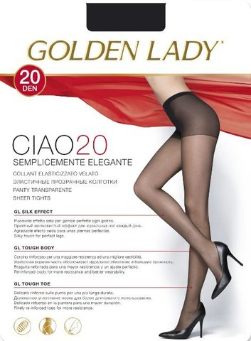 Ciao 20 GOLDEN LADY колготки