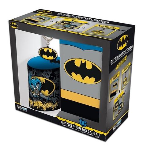 Набор ABYstyle: DC COMICS: Кружка + Брелок + Записная книжка Batman