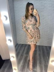 милое летнее платье купить