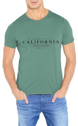 461493-49 футболка мужская, зеленая