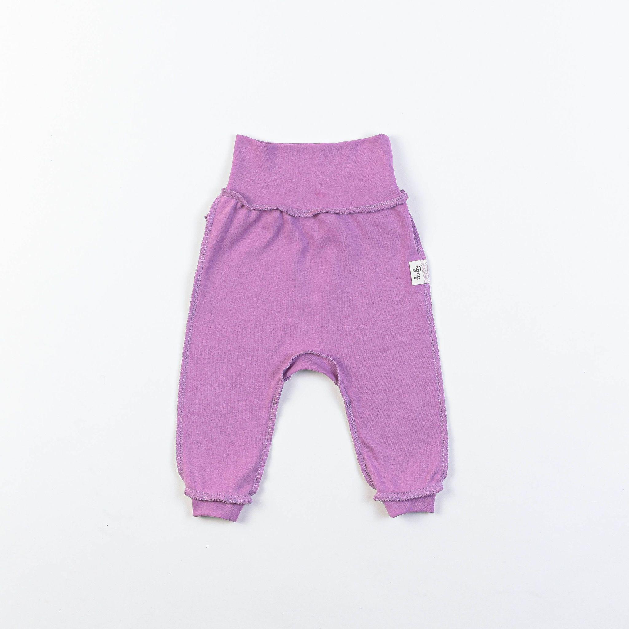 Ruffled leggings 0+, Lilac