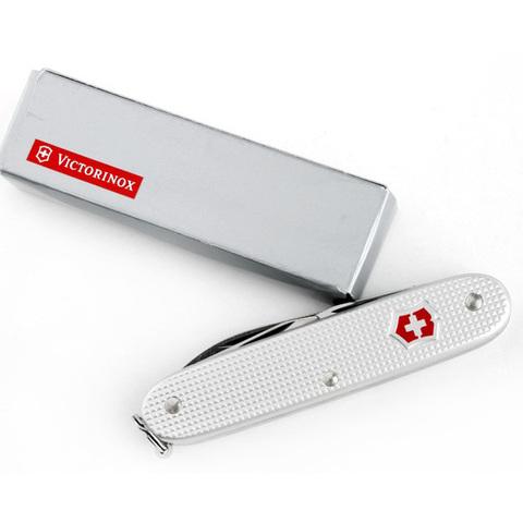 Нож Victorinox Pioneer, 93 мм, 6 функций, серебристый