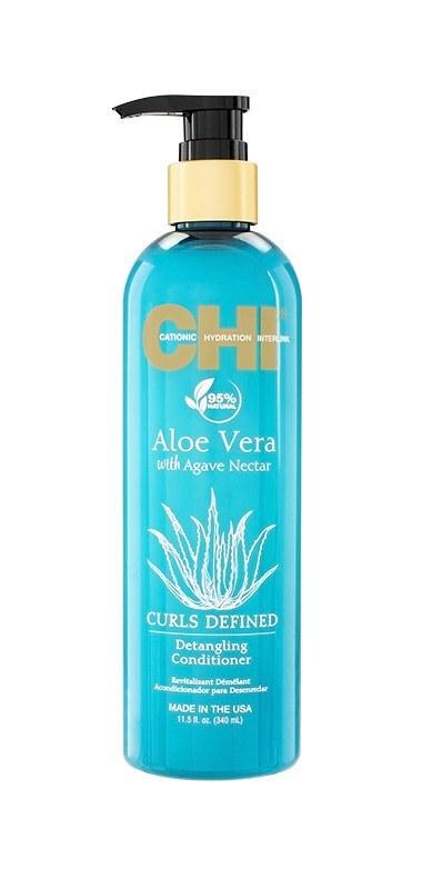 Кондиционер для облегчения расчесывания CHI Aloe Vera with Agave Nectar 340 мл