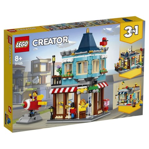 LEGO Creator: Городской магазин игрушек 31105 — Townhouse Toy Store — Лего Креатор Создатель