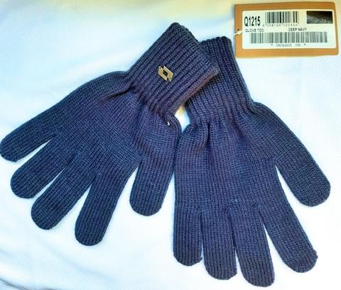 Перчатки трикотажные LOTTO RIB GLOVE TOD Q1215 синие