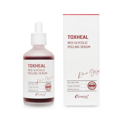Пилинг-сыворотка ГЛИКОЛЕВАЯ Toxheal Red Glyucolic Peeling Serum, 100 мл ESTHETIC HOUSE