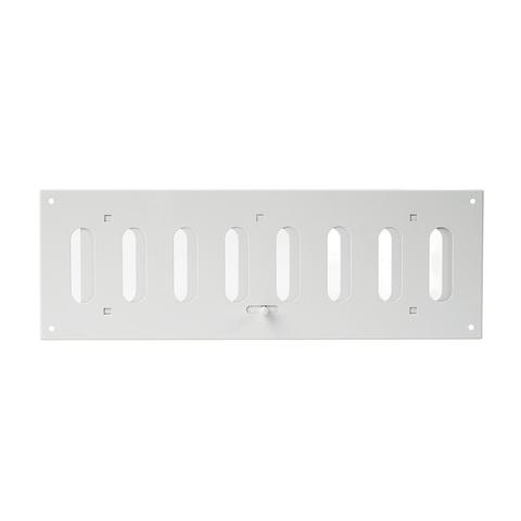 Регулируемая жалюзийная решетка Europlast MR3010R белая алюминиевая