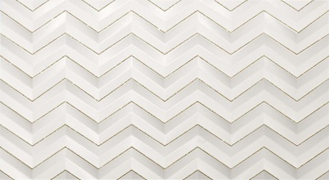 3D White Chevron Glitter matt/3Д Вайт Шеврон Глиттер матт