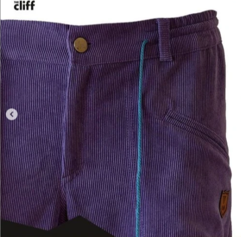 Брюки для скалолазания Hi-Gears The Cliff Corduroy Pants purple (фиолетовые)