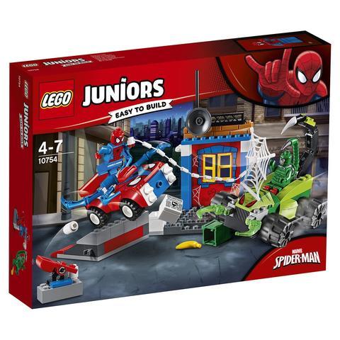 LEGO Juniors: Решающий бой Человека-паука против Скорпиона 10754 — Spider-Man vs. Scorpion Street Showdown — Лего Джуниорс Подростки
