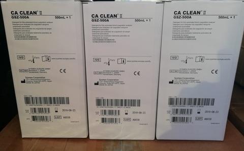 964-0611-9 (10445688) Моющий раствор CA Clean II для коагулометров CA Sysmex,1х500 мл Sysmex Corporation, Japan/Сисмекс Корпорейшн, Япония
